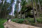 Wanderweg zwischen Roiten und Zwettl im Waldviertel